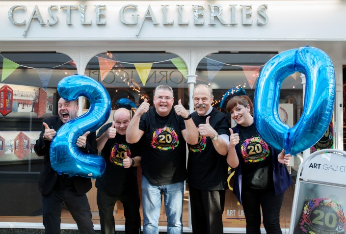 009 705x477 Commercial Photography; Castle Galleries 20th anniversary event