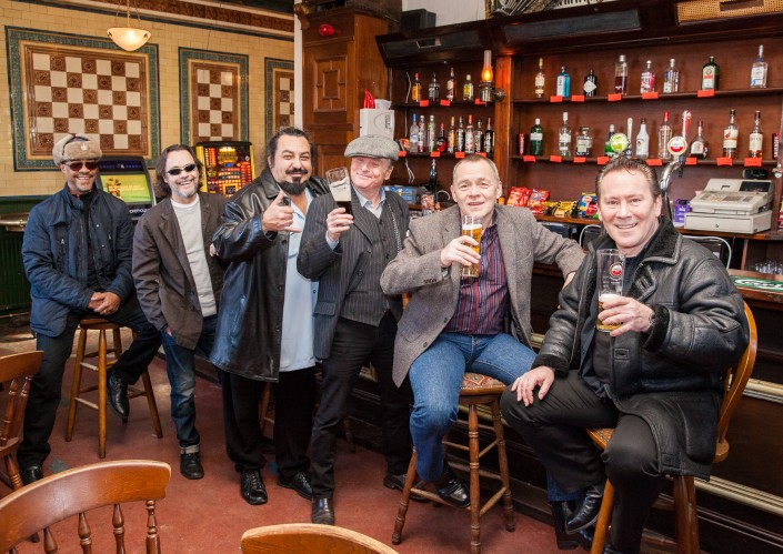 018 705x499 Commercial photography; UB40 visit the Eagle and Tun pub in Birmingham