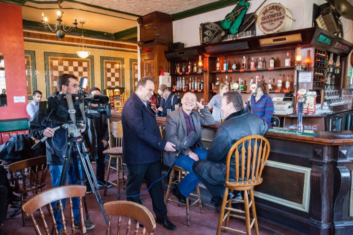 020 1 705x470 Commercial photography; UB40 visit the Eagle and Tun pub in Birmingham