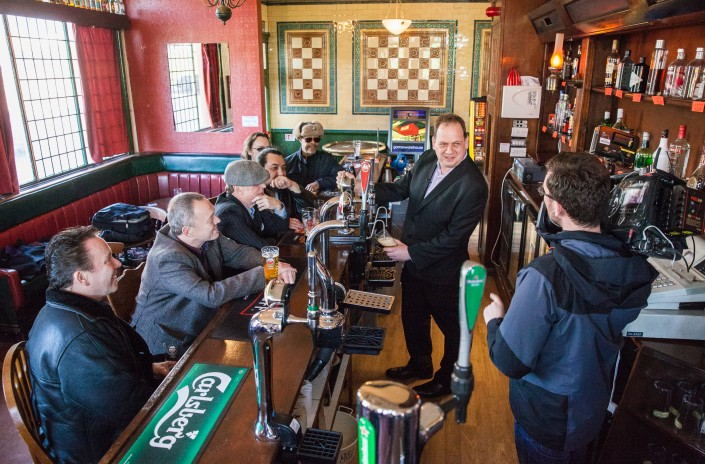 023 1 705x464 Commercial photography; UB40 visit the Eagle and Tun pub in Birmingham