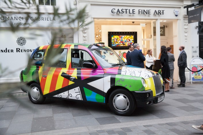 023 705x470 Commercial Photography; Castle Galleries Romero Britto preview event