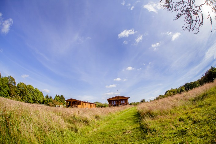 035 705x469 Promotional photography. Forest View Retreats log cabins.