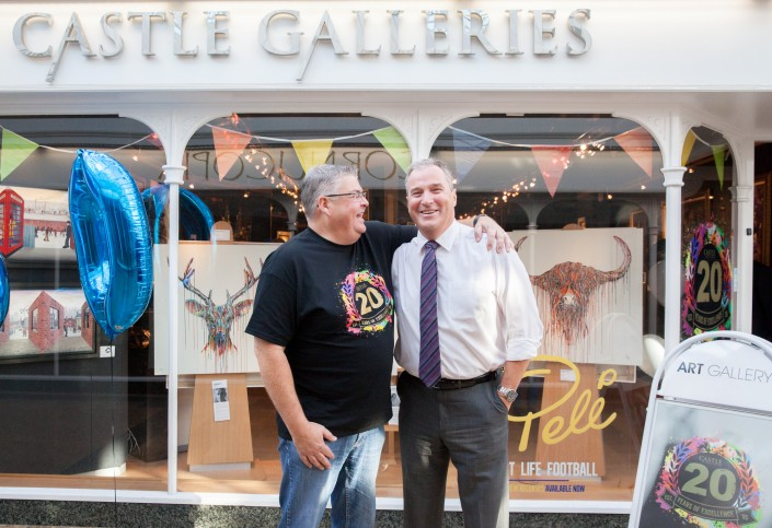 003 705x483 Commercial Photography; Castle Galleries 20th anniversary event
