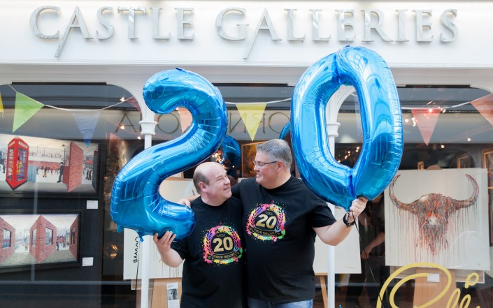 011 705x441 Commercial Photography; Castle Galleries 20th anniversary event