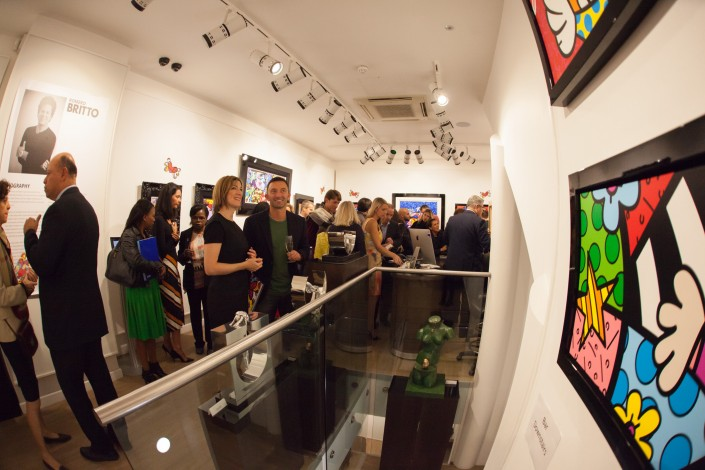 020 705x470 Commercial Photography; Castle Galleries Romero Britto preview event
