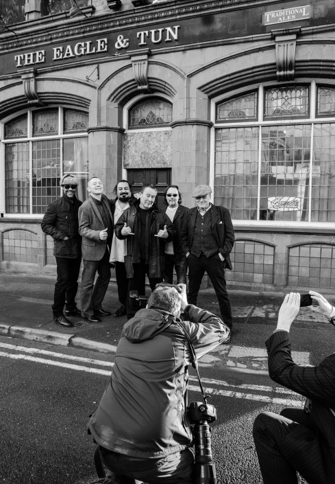 033 1 489x705 Commercial photography; UB40 visit the Eagle and Tun pub in Birmingham