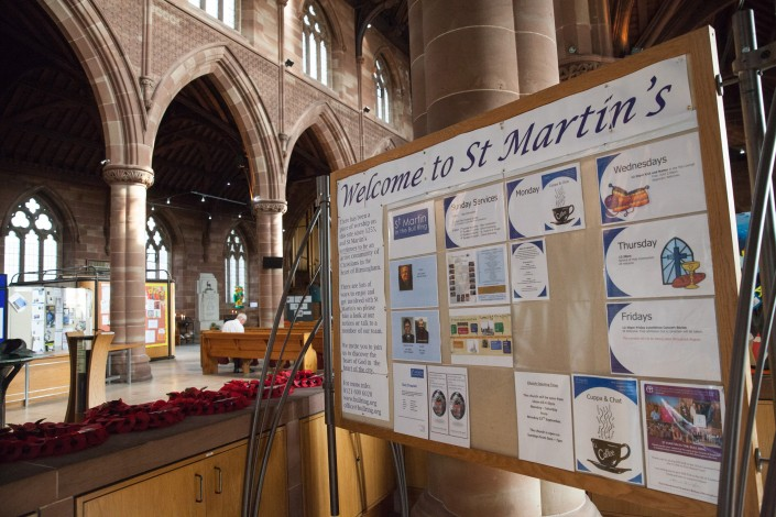 IMG 4968 705x470 Commercial Photography; BARRA WW2 remembrance ceremony, St Martins Church, Birmingham