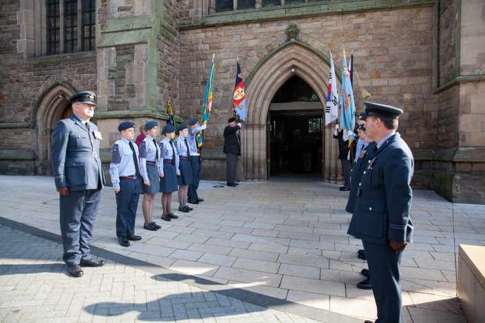 IMG 4982 705x470 Commercial Photography; BARRA WW2 remembrance ceremony, St Martins Church, Birmingham