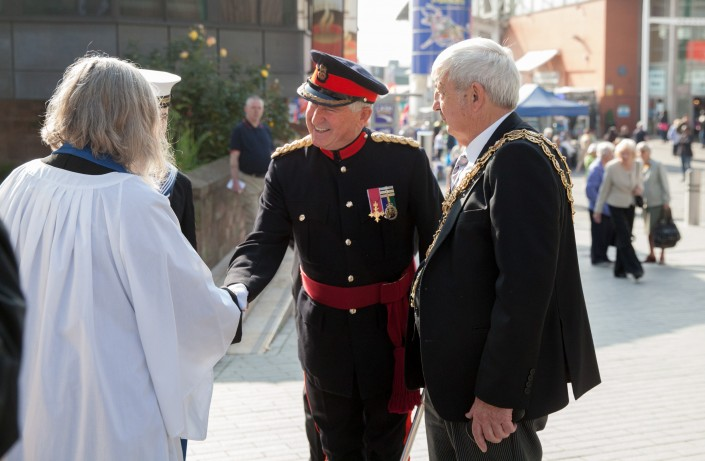 IMG 4984 705x461 Commercial Photography; BARRA WW2 remembrance ceremony, St Martins Church, Birmingham