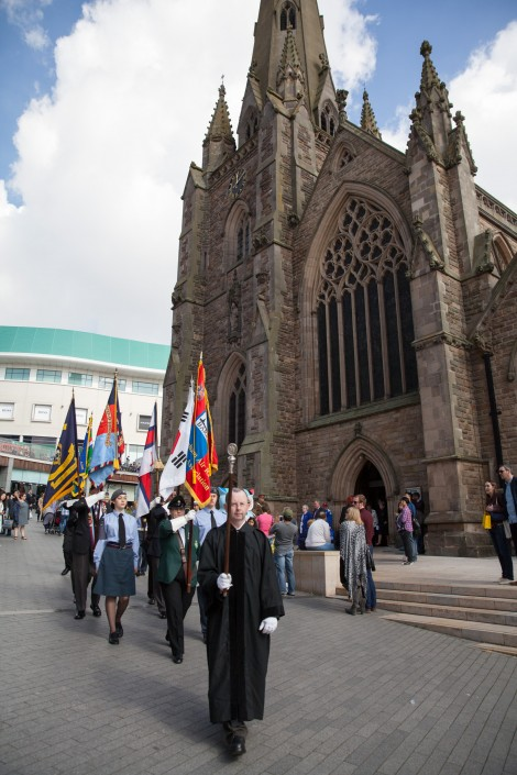IMG 5130 470x705 Commercial Photography; BARRA WW2 remembrance ceremony, St Martins Church, Birmingham